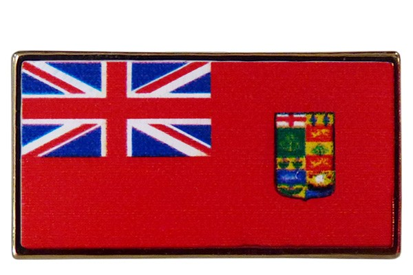 "Canadian Red Ensign WWI Lapel Pin (0.5""x1"")"