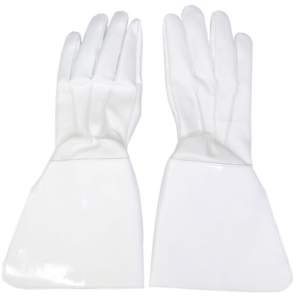 White Parade Gauntlets, L