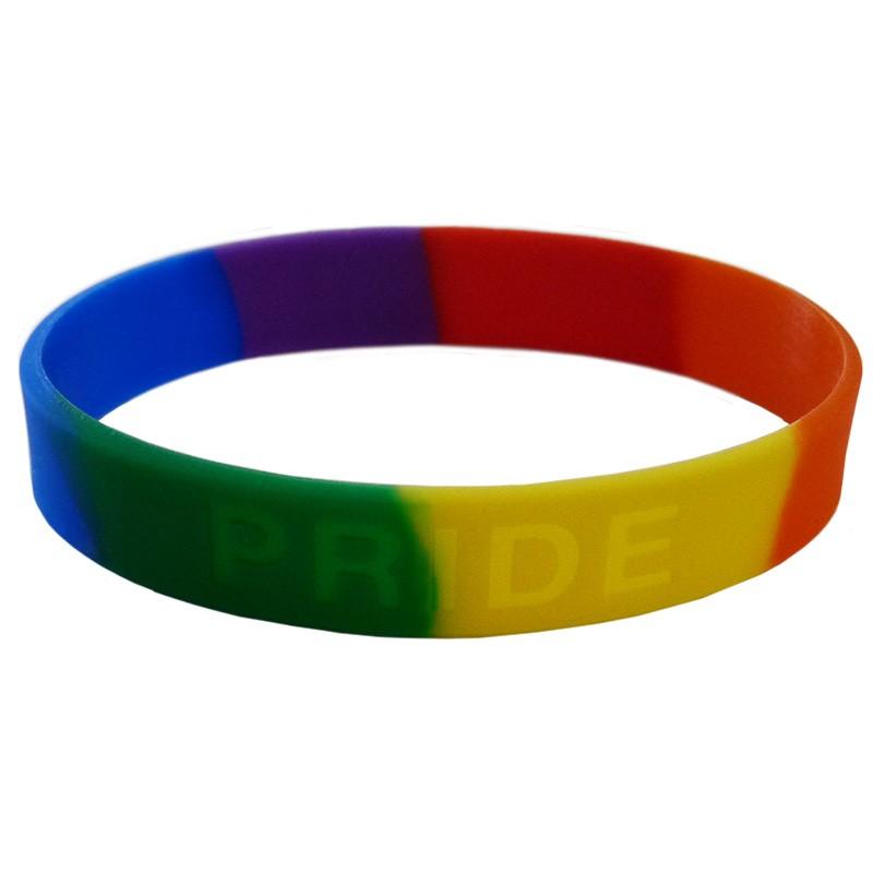 Pride Silicone Bracelet (Adult Size)