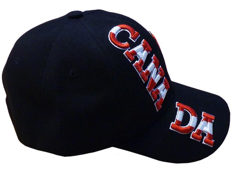 Canada Baseball Cap, Black
