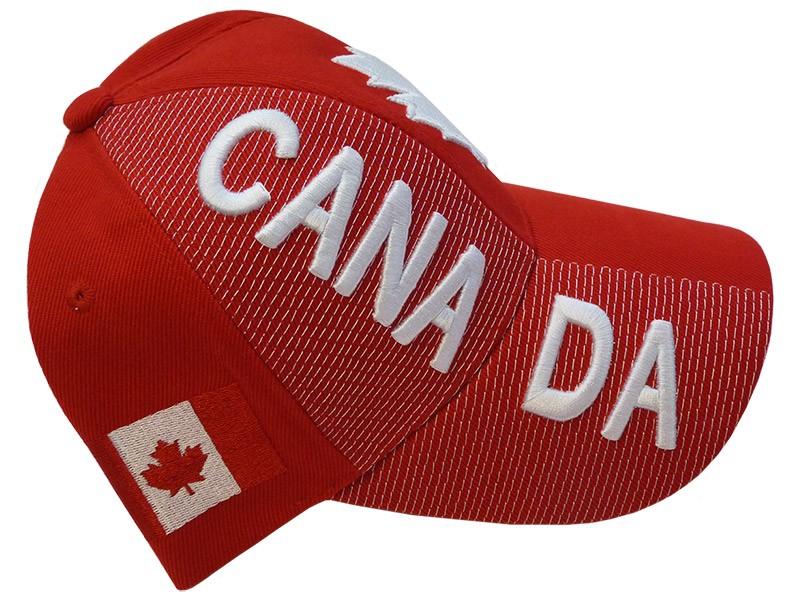 Canada Baseball Cap, Red