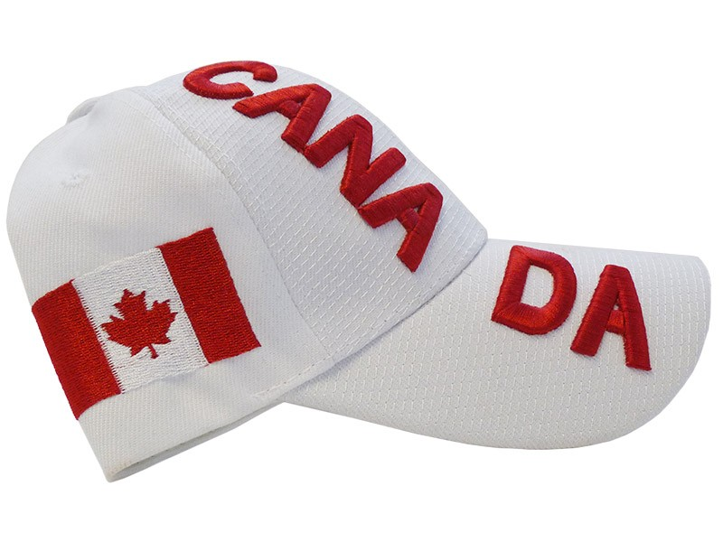 Canada Baseball Cap, White