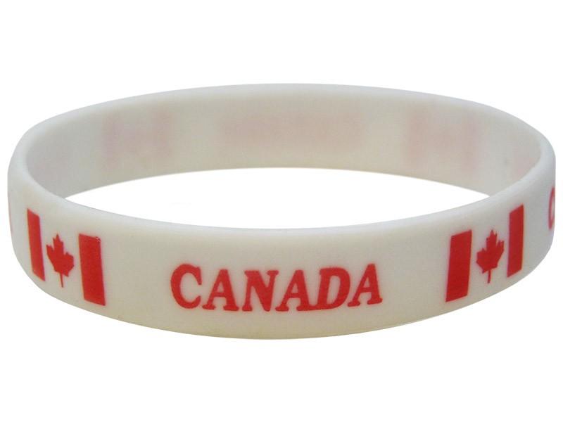 Canada Silicone Bracelets Canada Wristbands
