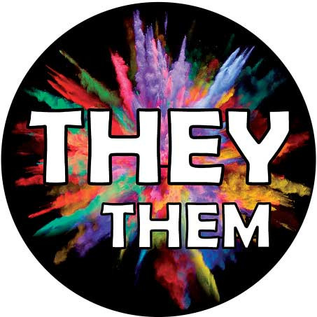 They / Them Pronoun Buttons