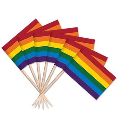 Pride Toothpick Flags