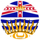 BC Indigenous Flag Buttons