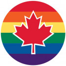 Canada Pride Buttons