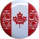 Canadian Indigenous Flag Button