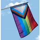 """Inclusive Pride 12""""x18"""" Stick Flag"""