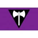 Labrys (Axe) Lesbian Flag