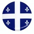 """Quebec 1.5"""" Round Button"""