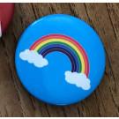 Hope Rainbow Button