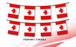 Canada Pennant Strings