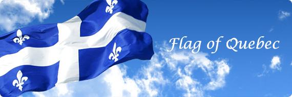 Quebec Flags, Flag of Quebec, QC Flag