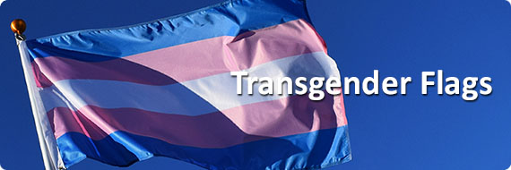 Transgender Flags, Banners, Transgender Pins